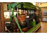 The oscillating steam engine of the paddle steamer Empress - see text.
